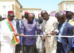 Boké : Le Président Alpha Condé inaugure la Chambre régionale de commerce